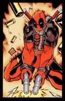 Deadpool Marvel by GreenBBB