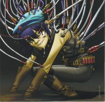 Plastic Beach - Android Noodle by KaktusL8