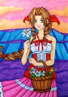 Aerith, a flower blooming in the Radiant Garden by dagga19