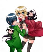 alois and ciel by chiorinoel