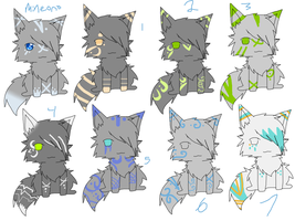 Kitty cat adopts by Icey-adopts