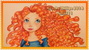 Merida _ done by Tanis711