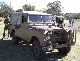 Land Rover on display 3 by RedtailFox