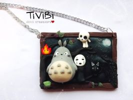 Totoro and Friends by tivibi