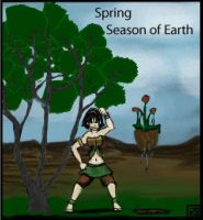 Toph Spring Earth by HoneyDove