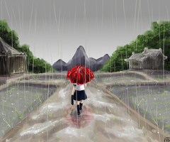 Rainy Season by TriaElf9