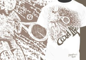 Courtlife T-shirt 1 by ijographicz