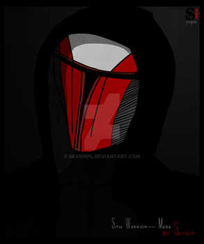 Star wars Sith mask by Seviorpl