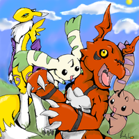 Season 3 Digimon by RastaPickney-Juls