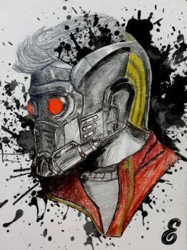 Star Lord Artbook Exclusive by Sarmandor