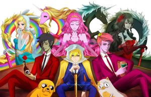 Adventure time ANIME!!! by Nightmare132
