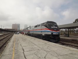 Amtrak 822 by metalheadrailfan