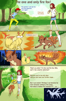Pokemon competition - the true fire fox by Leundra