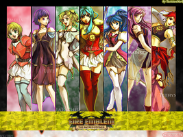 Fire Emblem: S.S. - Female WP by TacticianMark
