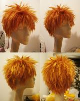 Ichigo cosplay wig by red-cluster