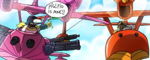 Porco Rosso VS Joulester by joulester