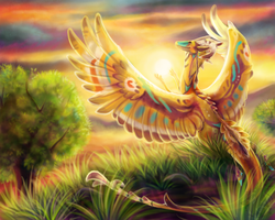 Sun Setter by animalartist16