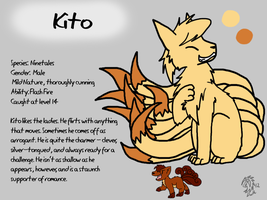 Kito Reference Sheet by DragonwolfRooke