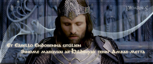 Aragorn's Coronation by mch8