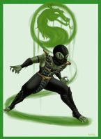 MK9 Tribute - Reptile Alternate by Valitel