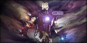 Iron Man Smudge Signature ( free style ) Part 2 by aking144
