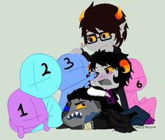 {Cyron Kaizer} Homestuck OCs collab by Undeadhatred