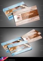 Hair and Make Up Business Card by AnotherBcreation