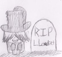 L's Grave by coffeeatthecafe