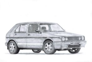 VW Citi Golf Mk1 by TheFreeman186