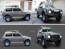 Jeep retouche by roboflexx