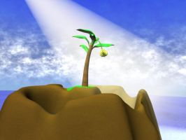 Holy Palm Tree by pndrgn