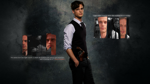 Dr. Spencer Reid Wallpaper by LiviaAlexandra