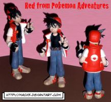 Clay Red of Pokemon Adventures by HeyLookASign
