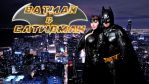 Batman and Catwoman Cosplay wallpaper by SWFan1977