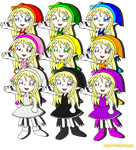 RAINBOW ELFES by HOBYMIITHETACTICIAN