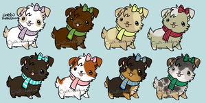 Scarfpuppies - Adoptables 'Natural' OPEN 1/8 by Craft-Ketchup