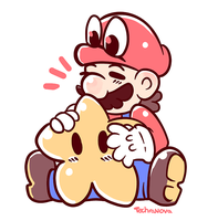 Hold that Star, Mario by SarahRichford