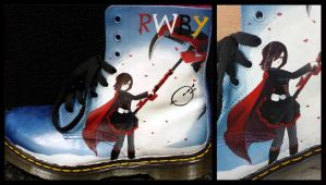RWBY shoes by GamerGirl84244