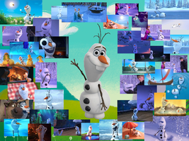 Frozen- Olaf  by courtneyfanTD