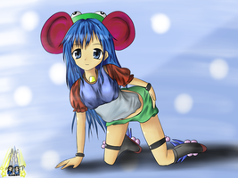 AYALA The Froggy Mouse Mascot by RJAce1014