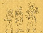 Dity-Man Character evolution by dragonmax