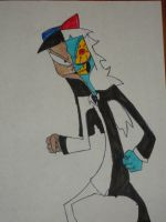 Stacy the two-faced girl by DoofenEmpire