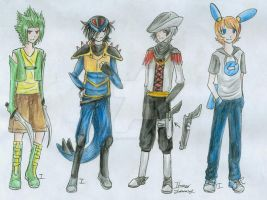 Pokemon Gijinka Batch 4 by itsmar-Adopts