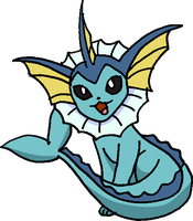134 - Vaporeon by Tails19950