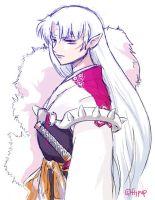 Sesshomaru by Flypup