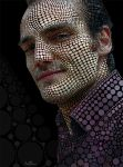 Pointillist Self Portrait by BenHeine