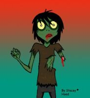 Zombie Doodle by oOstaceyOo