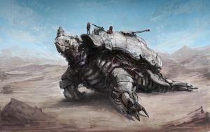 Concept Ship Tortoise by Darkcloud013