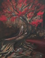 the horror tree - finished by PaintedPeople