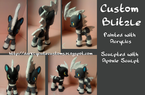 Blitzle - Custom Ponymon by Kanamai